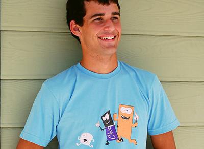 三款潮流班服t恤图案设计赏析